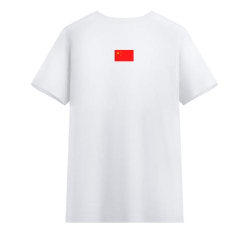 手绘t恤图案爱国