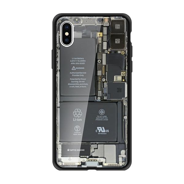 iphonex真机后视内部结构